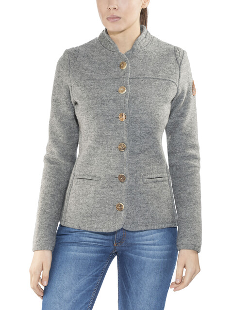 Maloja AllegriaM. Alpine Wool Jacket Women grey melange